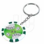 Casino poker chips sleutelhanger