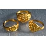 Ringetjes goud kleur