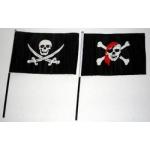 Piraten zwaaivlaggetjes