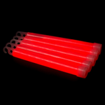 Glow stick, breaklight 6 Inch rood