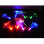 Led fiber diadeem