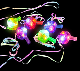 Party fluitjes met led lichtjes