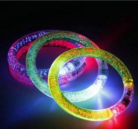 Lichtgevende glitter armband