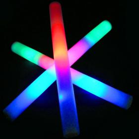 Led foam sticks multicolor